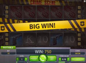 Crime Scene slotmaskinen SS-03