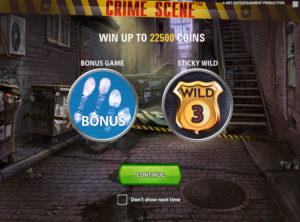 Crime Scene slotmaskinen SS-04