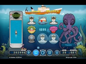 Deep Blue Spilleautomat SS 3