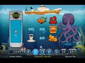 Deep Blue Spilleautomat SS 5