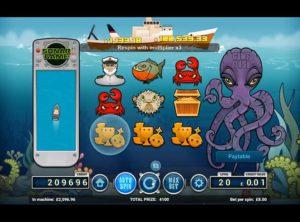 Deep Blue Spilleautomat SS 6