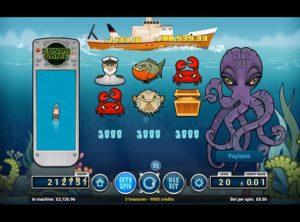 Deep Blue Spilleautomat SS 7