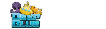 Deep Blue spillemaskine - logo