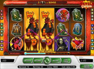 Devil's Delight slotmaskinen SS-01