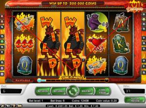 Devil's Delight slotmaskinen SS-02