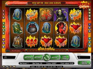 Devil's Delight slotmaskinen SS-03