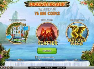 Dragon Island slotmaskinen SS-03