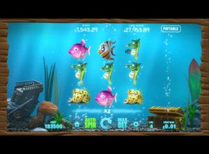 Fish Tank spilleautomaten SS