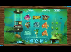 Fish Tank spilleautomaten SS 4