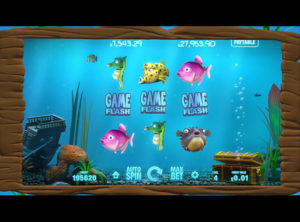 Fish Tank spilleautomaten SS 5