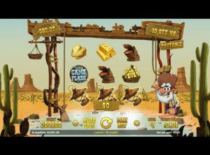Gold Rush spilleautomat SS 3
