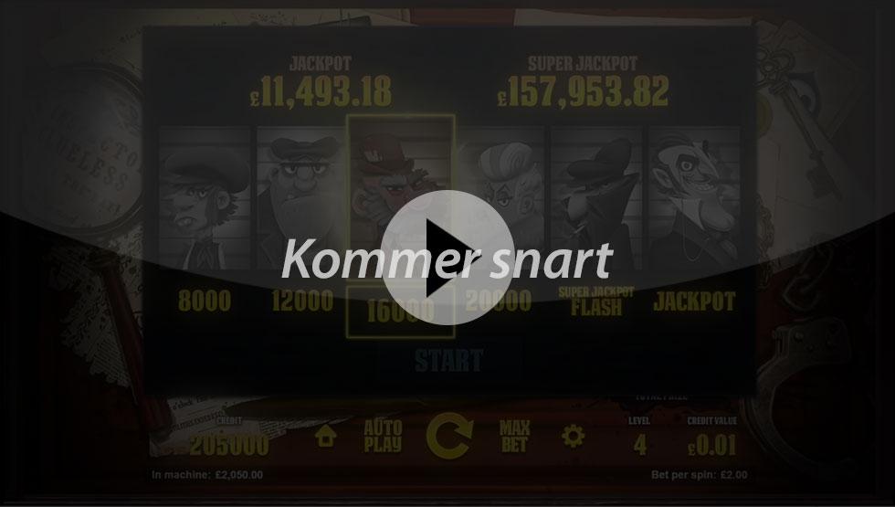 Inspector spillemaskinen - BG iframebillede