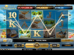 Mega Fortune Dreams slotmaskinen SS-01