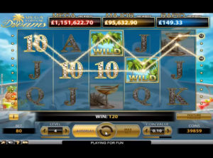 Mega Fortune Dreams slotmaskinen SS-06