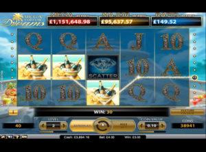 Mega Fortune Dreams slotmaskinen SS-07