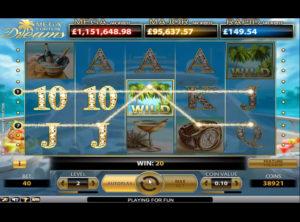 Mega Fortune Dreams slotmaskinen SS-08