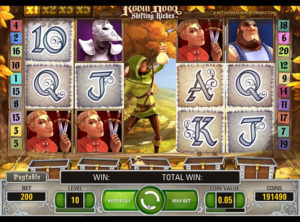 Robin Hood Shifting Riches slotmaskinen SS-01