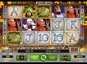 Robin Hood Shifting Riches slotmaskinen SS-04
