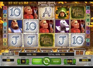 Robin Hood Shifting Riches slotmaskinen SS-05