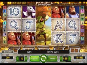 Robin Hood Shifting Riches slotmaskinen SS-07