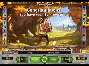 Robin Hood Shifting Riches slotmaskinen SS-09