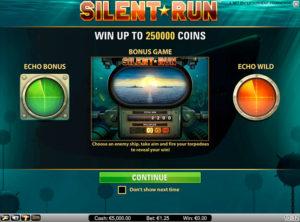 Silent Run slotmaskinen SS-06