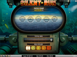 Silent Run slotmaskinen SS-08