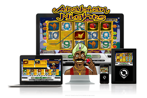 Arabian Nights spil på mobil og tablet