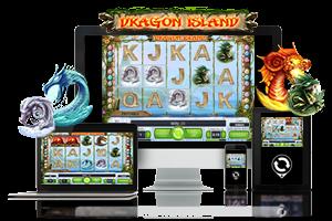Dragon Island spil på mobil og tablet