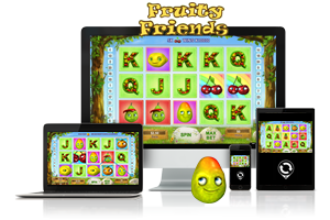 Fruity Friends spil på mobil og tablet