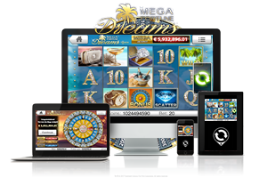 Mega Fortune Dreams spil på mobil og tablet