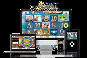 Mega Fortune Dreams spil på mobil og tablet