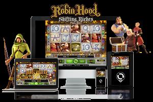 Robin Hood spil på mobil og tablet