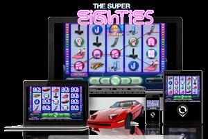 Super Eighties spil på mobil og tablet