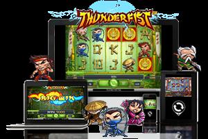 Thunderfist spil på mobil og tablet