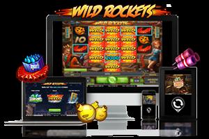 Wild Rockets spil på mobil og tablet