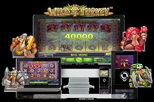 Wild Turkey spil på mobil og tablet