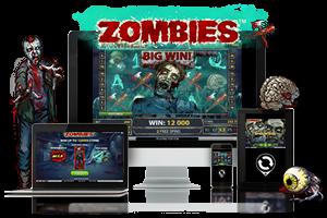 Zombies spil på mobil og tablet