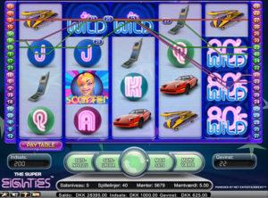 Super Eighties slotmaskinen SS-05