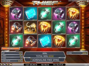 Thief slotmaskinen SS-01