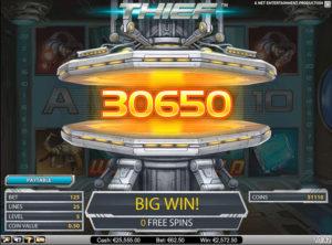 Thief slotmaskinen SS-03