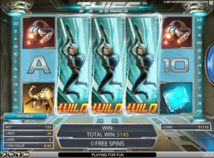 Thief slotmaskinen SS-04