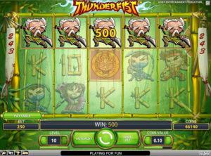 Thunderfist slotmaskinen SS-04