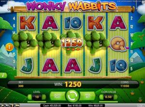 Wonky Wabbits slotmakinen SS-04