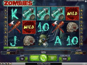 Zombies slotmaskinen SS-02