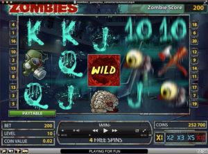 Zombies slotmaskinen SS-06