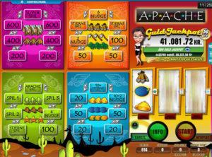 Apache spilleautomaten SS 7