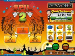 Apache spilleautomaten SS 4