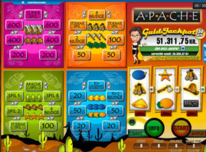 Apache spilleautomaten SS 5
