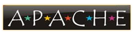 Apache slot game logo